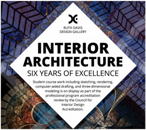 Friday March 17 Tuesday 28 2017 Council Of Interior Design Accreditation Exhibit